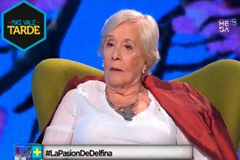 Delfina Guzmán habla sobre la vejez