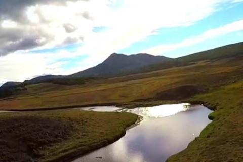 Te invitamos a recorrer Tierra del Fuego desde las alturas