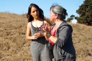 María José Bello se maravilló con el bosque Petra de Quintero
