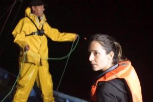 María José Bello acompañó a los pescadores de Quintero
