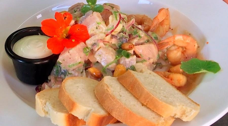 """¡Conoce la receta del exquisito ceviche de mar y tierra de """"La Lobera""""!"""