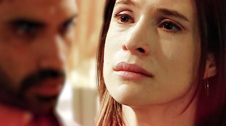 Amanda le confesó a Víctor la verdad sobre su hija