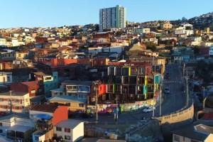 ¡Disfruta de la belleza de Valparaíso desde el aire!