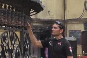 Luis Andaur recorrió hermosos lugares de la India