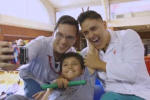 Teletón 2017: El noble gesto de Joey Montana con los niños de la Teletón