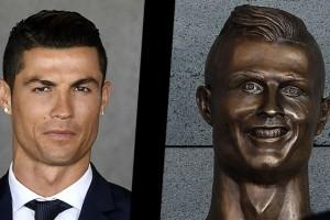 El escultor del busto de Cristiano Ronaldo tuvo su revancha