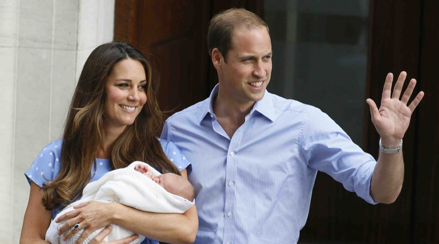 ¡El hijo de Kate Middleton y del príncipe William nació!