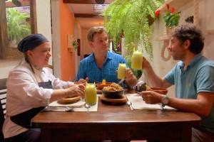 ¿Qué le pareció a Amaro la gastronomía colombiana?