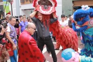Amaro se infiltró en un carnaval de Lima