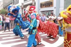 Amaro vivió una grata experiencia viendo el típico baile callejero de Lima