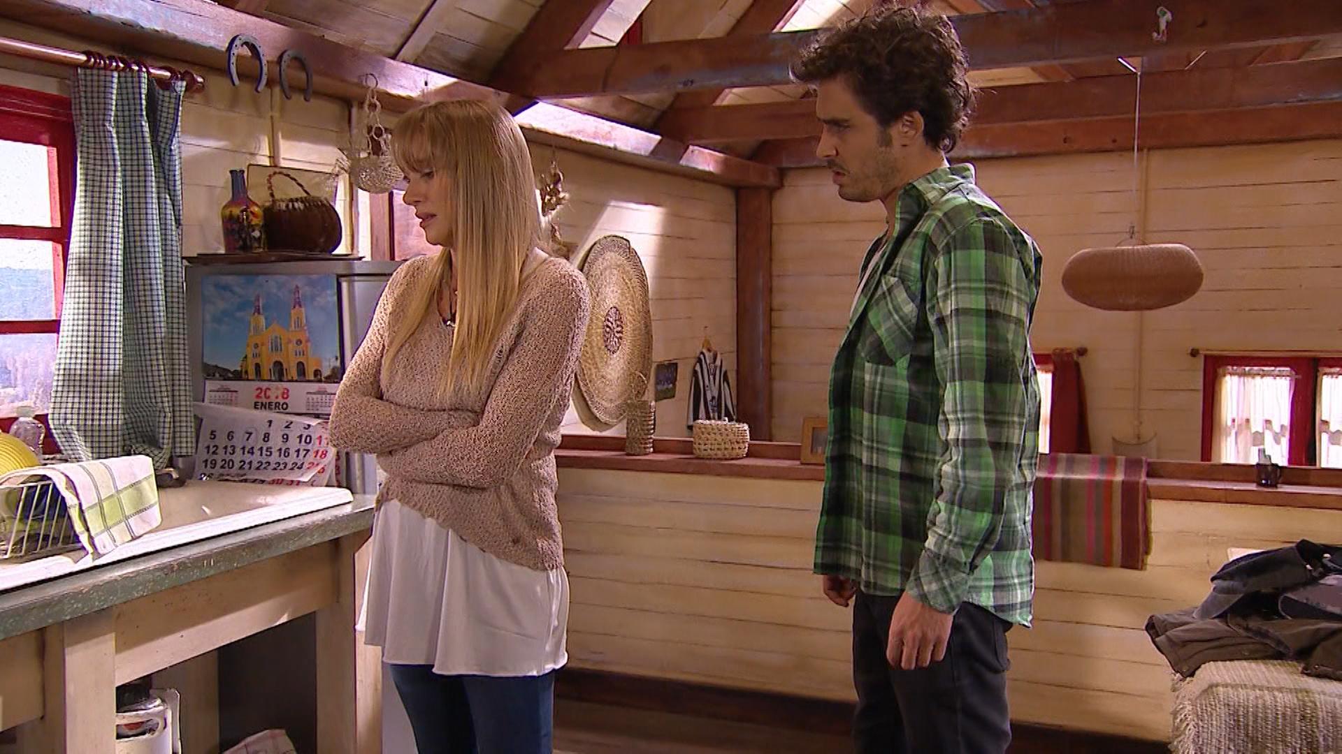 ¿Juliette vuelve a generarle dudas a Franco? - Capítulo 87