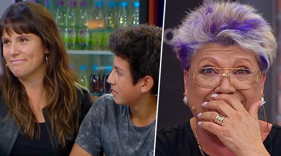 ¡La especial y divertida relación de María José Quiroz y su hijo!