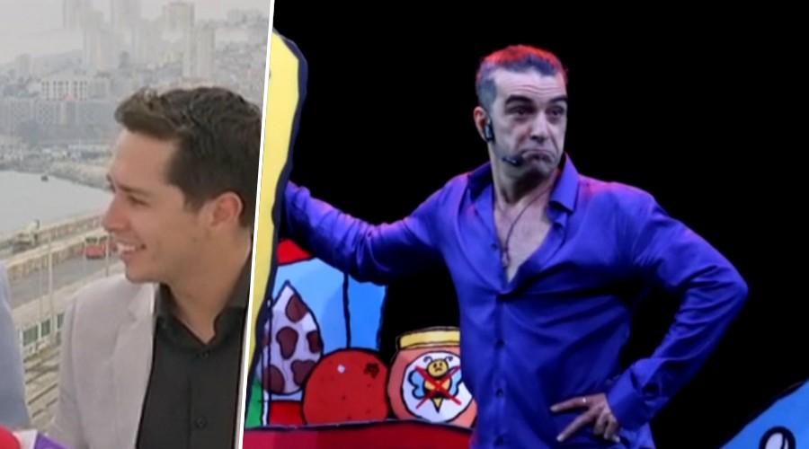 """¡Éxito rotundo! Jorge Alís conquistó al """"Monstruo"""" de la Quinta Vergara y al panel de Mucho Gusto"""