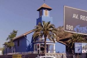 Koke Santa Ana y Rodrigo Muñoz contemplaron la belleza de Iglesia la Viñita
