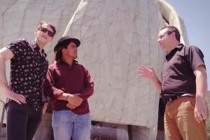Koke y José Antonio Raffo descubrieron los secretos del Templo Bahá