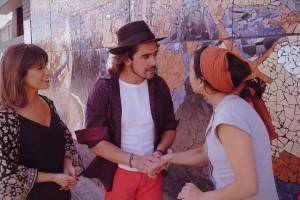 ¡Lucía López y Koke Santa Ana se encantaron con las historias de folcloristas chilenos!