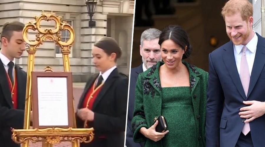Los cahuines en torno al  bebé real: La reina no le daría el título de príncipe