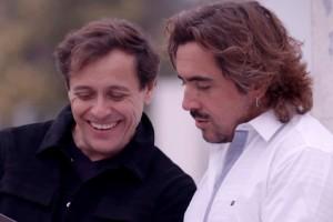 Koke Santa Ana y Ávaro Morales conocieron más de la comunidad helénica en Santiago