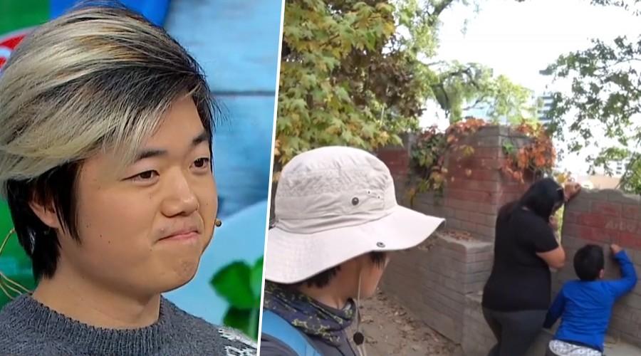 Habla el turista coreano que increpó a los chilenos que rayaban el Cerro Santa Lucía