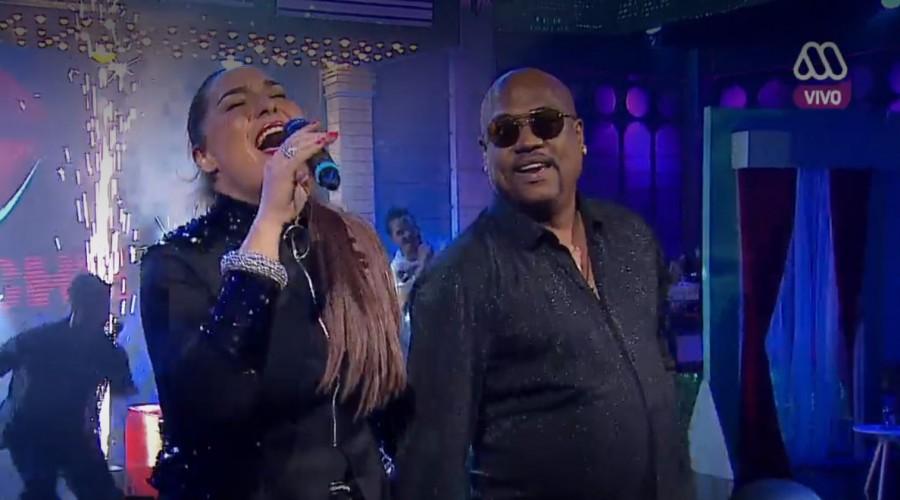 """¡VISITA INTERNACIONAL! ¡La Bouche estuvo en exclusivo cantando """"Be My Lover"""" en MCC!"""