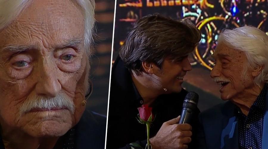 Emoción a flor de piel: Ignacio Kliche homenajea en vivo y en directo a su abuelo Walter