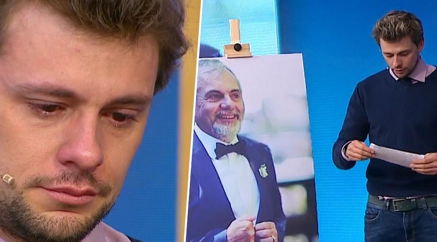 Joaquín Méndez recibió inesperado llamado telefónico de su padre en vivo