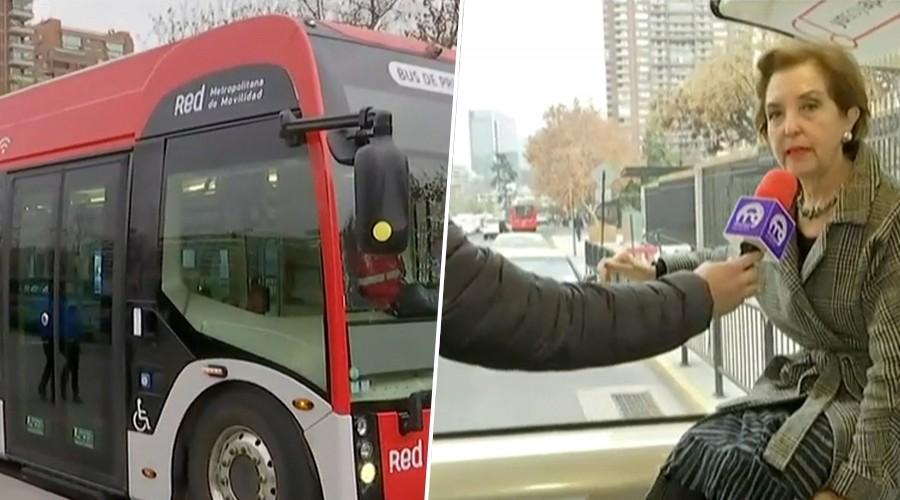 Conozca el nuevo bus tipo metro que ya está en Chile y tiene tecnología de punta