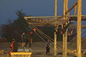 Lágrimas y adrenalina en la última competencia por equipos en Resistiré