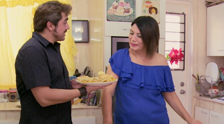 Koke y la cocinera más popular de Youtube se encantaron con especiales platos y picadas