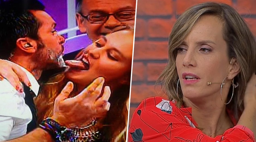Diana confesó que se molestó cuando Cristián Sánchez recibió un lengüetazo de Kika Silva