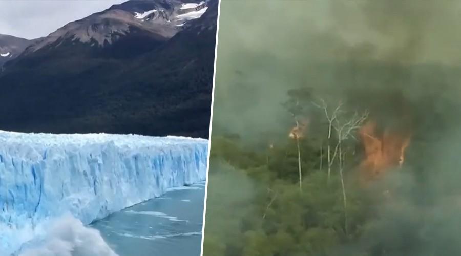 Megasequía, derretimiento de glaciares y Amazonas: Los efectos de la crisis climática