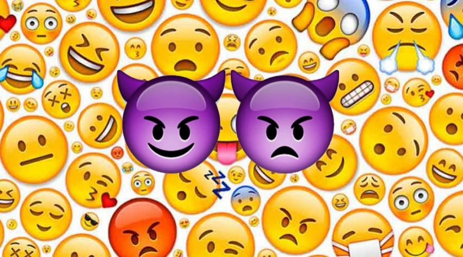 Diablo morado: Es uno de los emojis más usados y nadie sabe lo que significa
