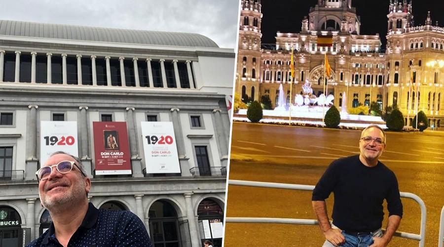 Luis Jara será el primer chileno en presentarse en el Teatro Real de Madrid