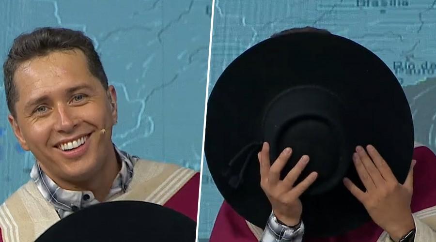 Karol Lucero llegó de sus vacaciones y fue interrogado por rumores de matrimonio en Mucho Gusto