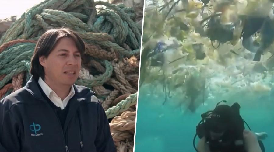 """""""Comberplast"""": Un emprendimiento dedicado al reciclaje de plásticos para salvar la Patagonía"""