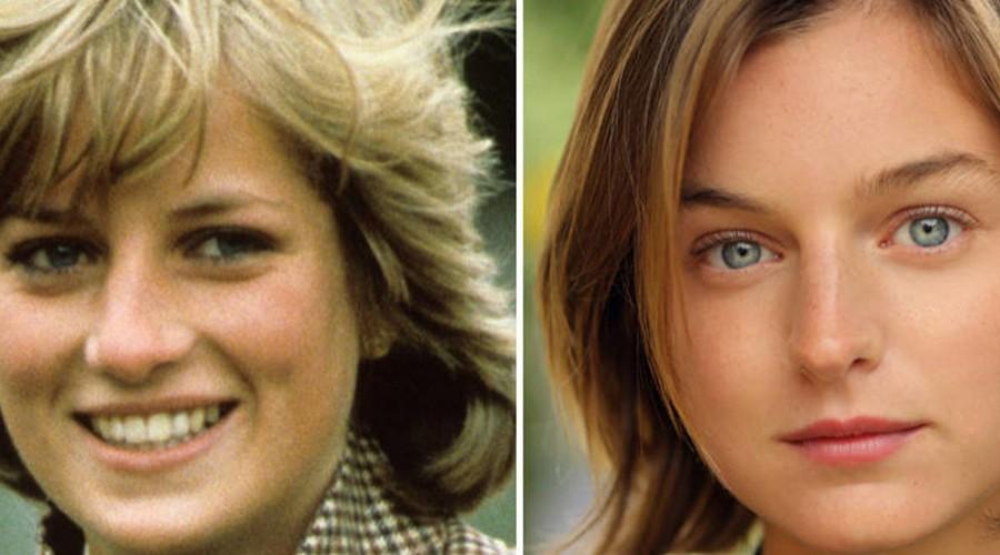 El look de la actriz que interpreta a Lady Di en la cuarta temporada de The Crown