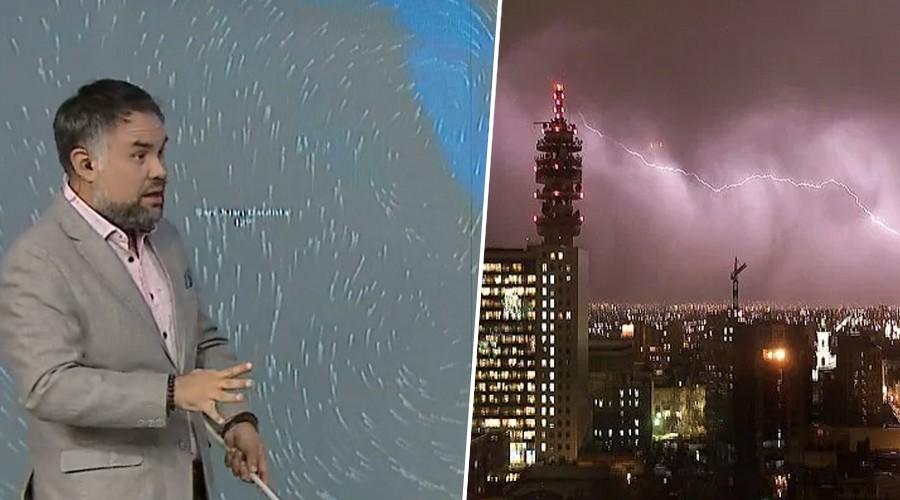 Hoy llueve en Santiago: Revisa el plan preventivo por precipitaciones y tormentas eléctricas
