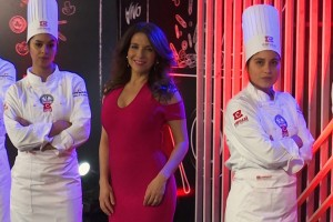 Con Karla Constant se lanzó la segunda temporada de la Copa Culinaria Carozzi