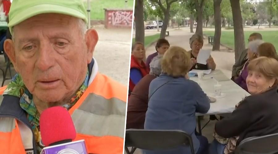 Vecinos de la comuna del Bosque realizan cabildo para tratar las inquietudes de la tercera edad