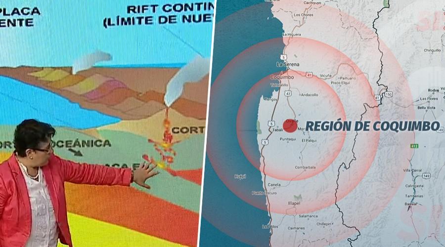 Experta se refiere al sismo de magnitud 6,1 que se sintió de Coquimbo al Maule