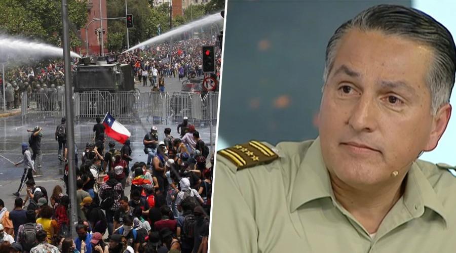 [Entrevista completa] General Rozas se refiere al actuar de Carabineros en los 19 días de protestas