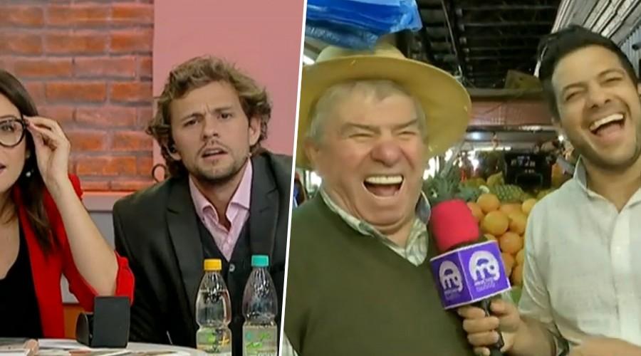 Que no falte el humor: Vendedor de La Vega saca risas con tallas para Simón Oliveros