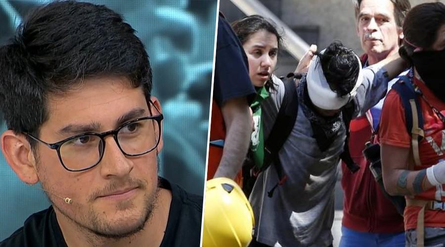 Testimonio: Joven odontólogo es uno de los voluntarios que asiste a heridos en manifestaciones