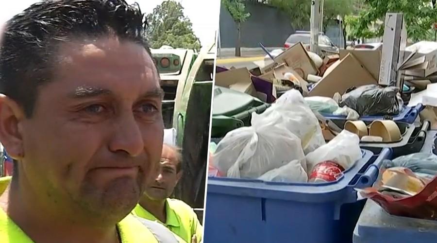 Gran cantidad de basura en las calles y las altas temperaturas amenazan con una crisis sanitaria