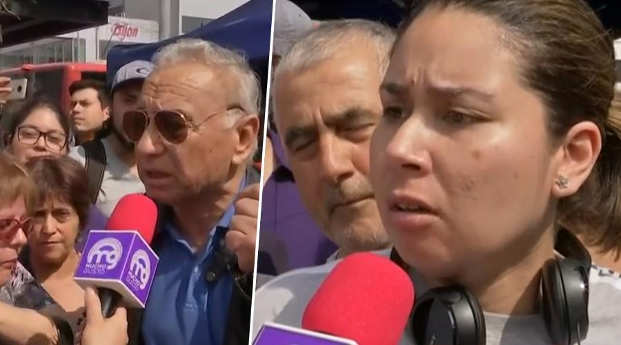 Micrófono abierto: Vecinos de Maipú expresan sus opiniones ante las cámaras de matinal