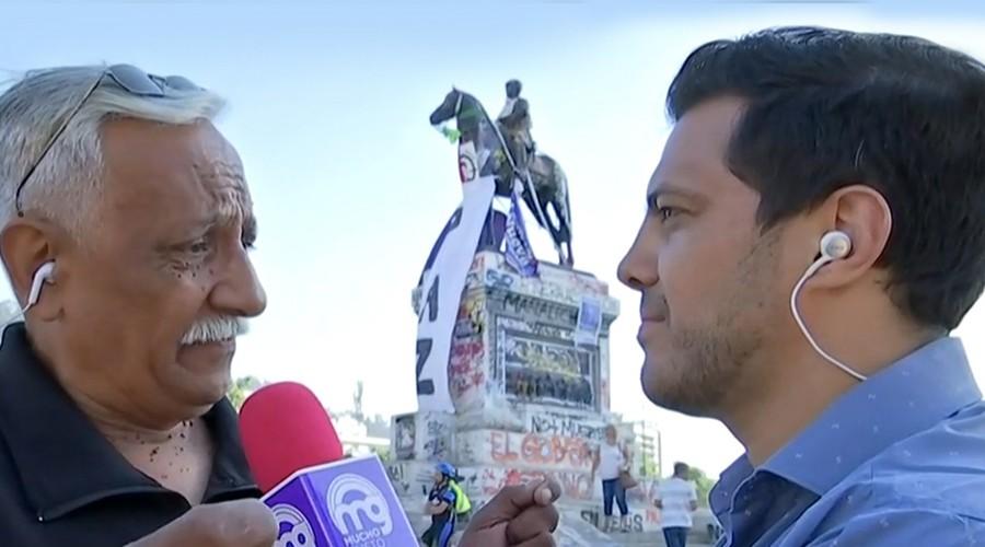 """""""Quiero un Chile orgulloso y lo estamos logrando"""": La emoción de Antonio por los cambios sociales"""