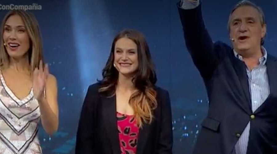 Alejandra Araya llegó por primera vez a las pantallas de Morandé con Compañía