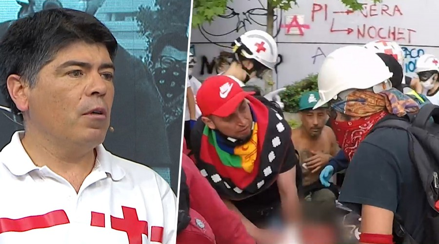 Cruz roja pide apoyo con insumos básicos para atender a lesionados en manifestaciones