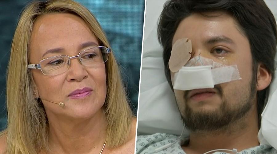 """Diego perdió un ojo por impacto de lacrimógena: """"Lo único que quiere el país es igualdad"""""""