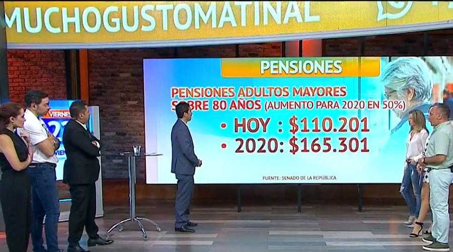 Ministro Briones explica el aumento de la pensión básica solidaria y los beneficios para adultos mayores